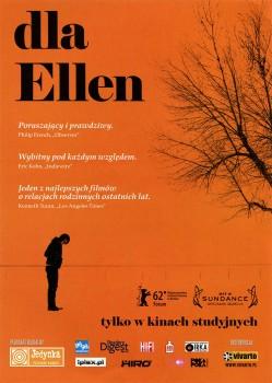 Przód ulotki filmu 'Dla Ellen'