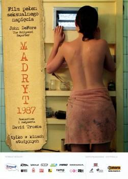 Przód ulotki filmu 'Madryt 1987'