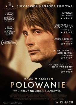 Polski plakat filmu 'Polowanie'