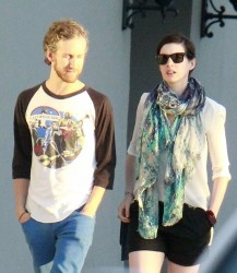Anne Hathaway - out in LA 8/11/13