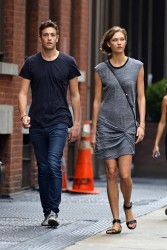 Karlie Kloss - out in NYC 8/11/13