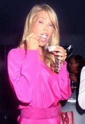 Christie Brinkley - Ellen's Run Pink Apron Party in NY 8/17/13