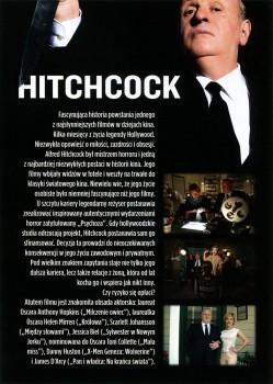 Tył ulotki filmu 'Hitchcock'