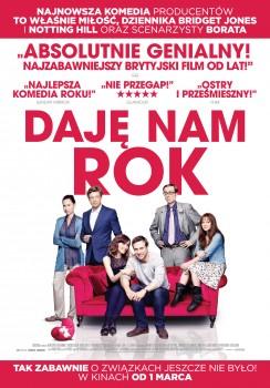 Polski plakat filmu 'Daję Nam Rok'