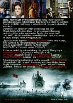 Tył ulotki filmu 'Syberiada Polska'