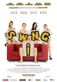 Polski plakat filmu 'Swing'