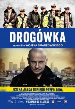 Polski plakat filmu 'Drogówka'