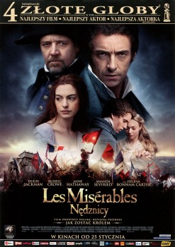 Przód ulotki filmu 'Les Misérables. Nędznicy'