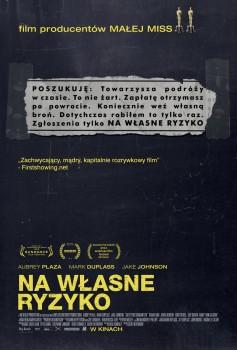 Polski plakat filmu 'Na Własne Ryzyko'