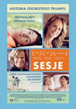 Polski plakat filmu 'Sesje'