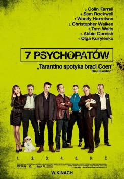 Polski plakat filmu '7 Psychopatów'
