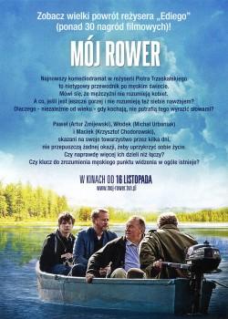 Tył ulotki filmu 'Mój Rower'