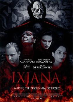Przód ulotki filmu 'Ixjana'