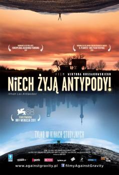 Przód ulotki filmu 'Niech Żyją Antypody!'