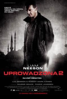 Polski plakat filmu 'Uprowadzona 2'