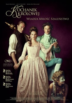 Polski plakat filmu 'Kochanek Królowej'