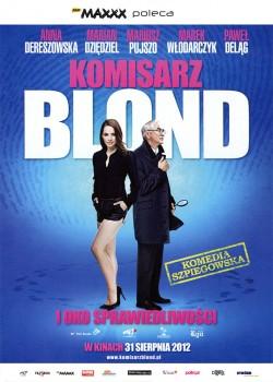 Przód ulotki filmu 'Komisarz Blond i Oko Sprawiedliwości'