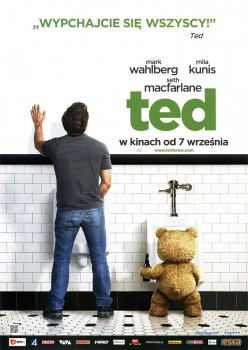 Przód ulotki filmu 'Ted'