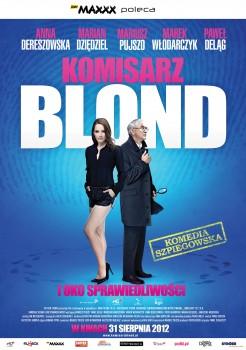 Polski plakat filmu 'Komisarz Blond i Oko Sprawiedliwości'