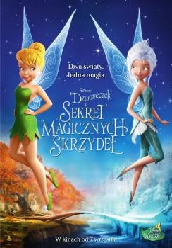 Polski plakat filmu 'Dzwoneczek i Sekret Magicznych Skrzydeł'