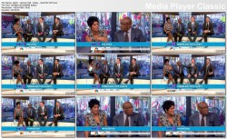 TAMRON HALL cleavage subtle, sexy feet/shoes - today show - march 27, 2013