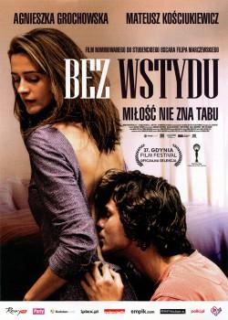 Przód ulotki filmu 'Bez Wstydu'