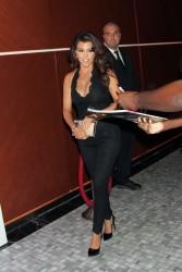 Kourtney Kardashian - Hosting a party at Hyde Nightclub in Las Vegas 8/31/13