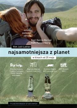 Przód ulotki filmu 'Najsamotniejsza Z Planet'