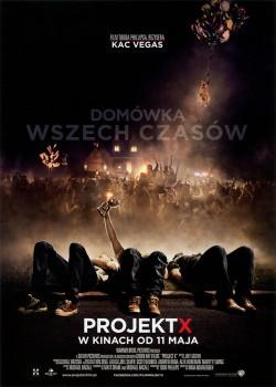 Przód ulotki filmu 'Projekt X'