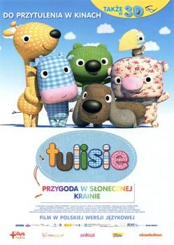 Przód ulotki filmu 'Tulisie. Przygoda W Słonecznej Krainie'