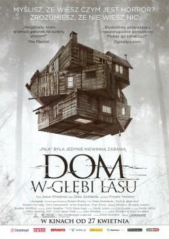 Przód ulotki filmu 'Dom W Głębi Lasu'
