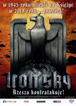 Przód ulotki filmu 'Iron Sky'