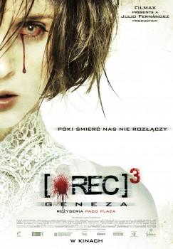 Polski plakat filmu '[Rec]³: Geneza'