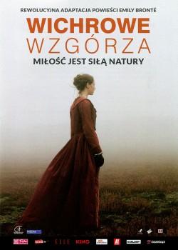 Przód ulotki filmu 'Wichrowe Wzgórza'