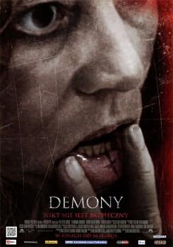 Przód ulotki filmu 'Demony'