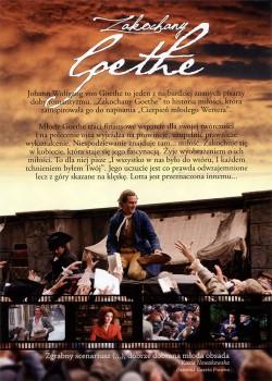 Tył ulotki filmu 'Zakochany Goethe'