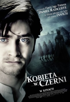 Polski plakat filmu 'Kobieta W Czerni'