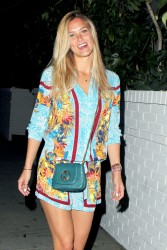 Bar Refaeli - at the Chateau Marmont in Hollywood 9/8/13