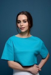 Emilia Clarke - 'Dom Hemingway' Press Conference at the 2013 TIFF 9/9/13