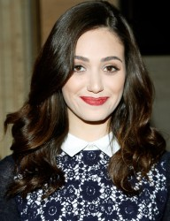 Emmy Rossum - Tory Burch Spring 2014 fashion show in NYC 9/10/13