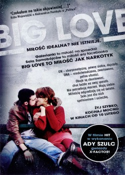 Tył ulotki filmu 'Big Love'