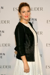"Drew Barrymore -  Estee Lauder ""Modern Muse"" Fragrance Launch Party in NYC 9/12/13"