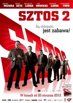 Przód ulotki filmu 'Sztos 2'