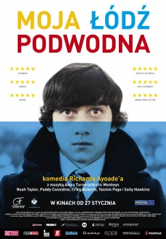 Polski plakat filmu 'Moja Łódź Podwodna'