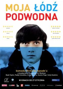 Przód ulotki filmu 'Moja Łódź Podwodna'