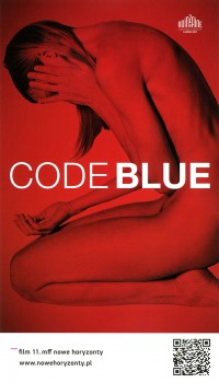 Przód ulotki filmu 'Code Blue'