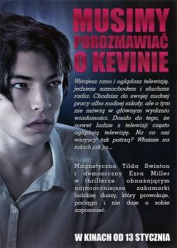 Tył ulotki filmu 'Musimy Porozmawiać O Kevinie'