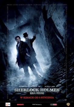 Polski plakat filmu 'Sherlock Holmes: Gra Cieni'