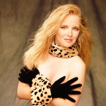 LAURALEE BELL topless covered with gloved hands