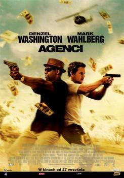 Przód ulotki filmu 'Agenci'